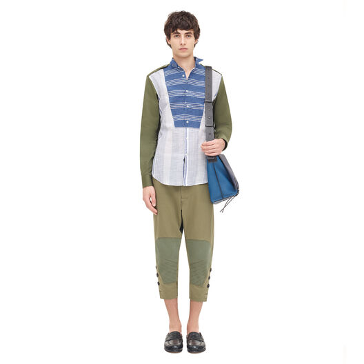 LOEWE Patchwork Shirt Multicolor all