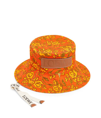 LOEWE Sombrero Bucket Paula Naranja front
