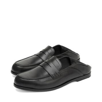 LOEWE Slip On Loafer Negro front