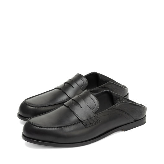 LOEWE Slip On Loafer Black front