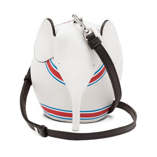 LOEWE Elephant Loewe 22 Mini Bag Soft White/Red all