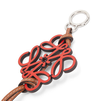 LOEWE Anagram Charm Red front