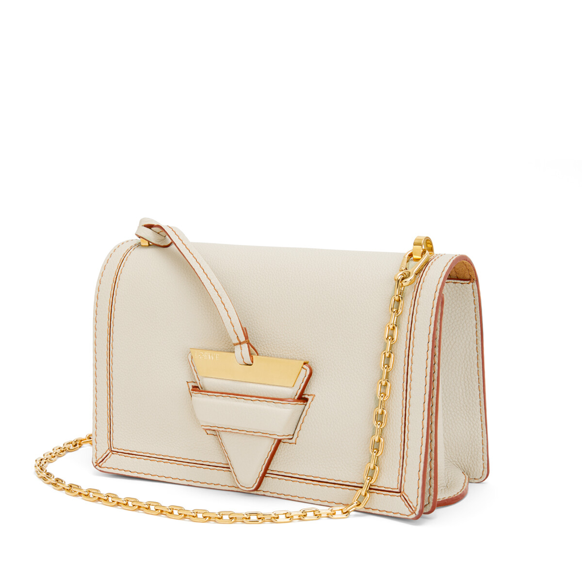 LOEWE Barcelona Soft Bag Light Oat front