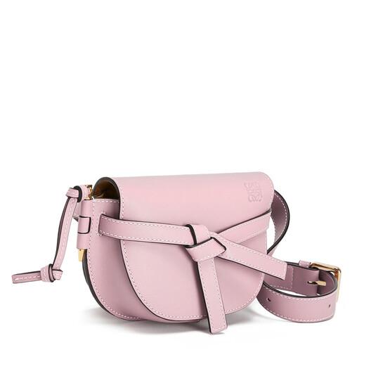 LOEWE Gate Bumbag Pastel Pink front