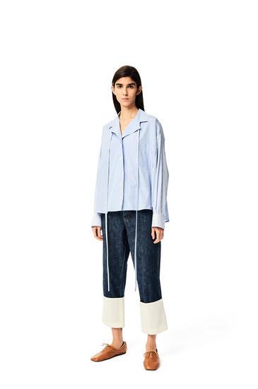 LOEWE Fisherman jeans in cotton Mid Blue Denim pdp_rd