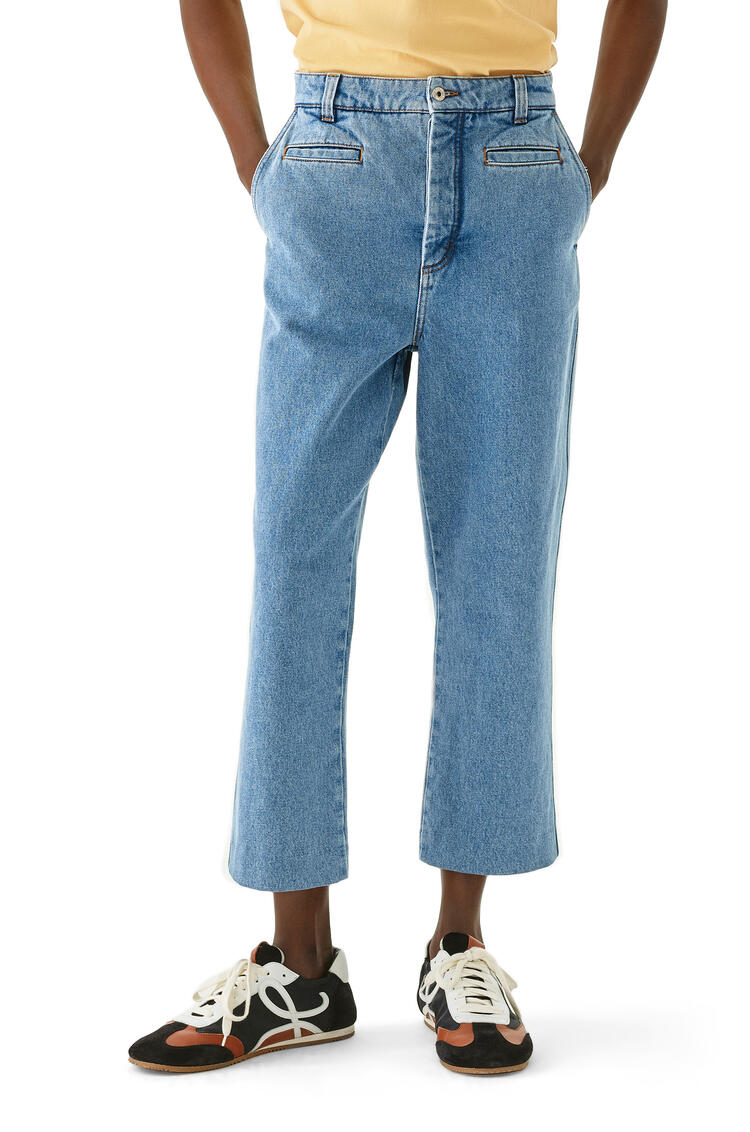 LOEWE Fisherman jeans in cotton Blue Denim pdp_rd