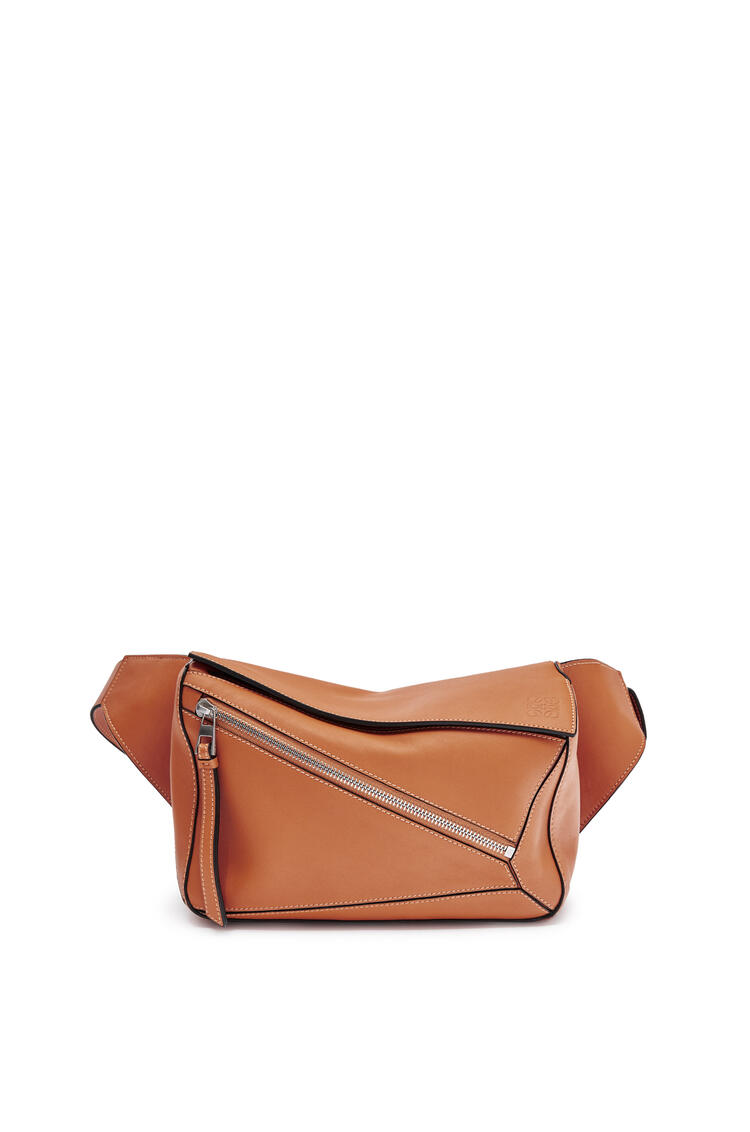 LOEWE Small Puzzle Bumbag in smooth calfskin Tan pdp_rd
