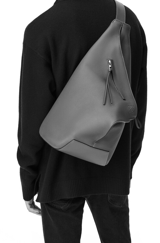 LOEWE Anton Small Backpack 橘 front