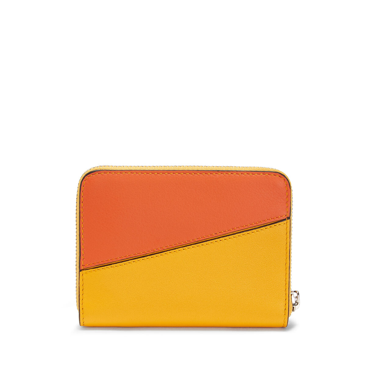 LOEWE Puzzle Zip 6 Card Holder Orange/Mandarin front