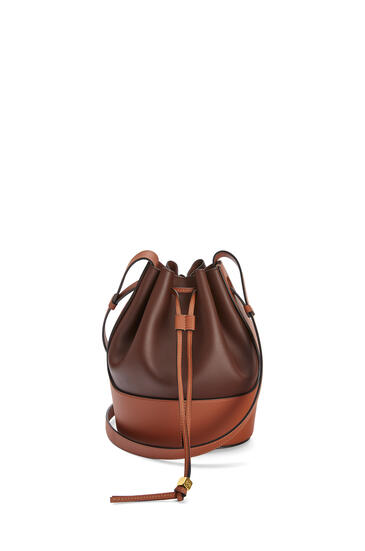 LOEWE 小号牛皮革 Balloon 手袋 Hazelnut/Tan pdp_rd