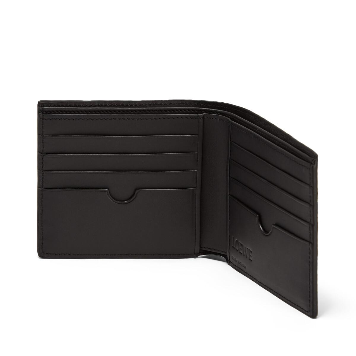 LOEWE Puzzle Bifold Wallet Khaki Green front