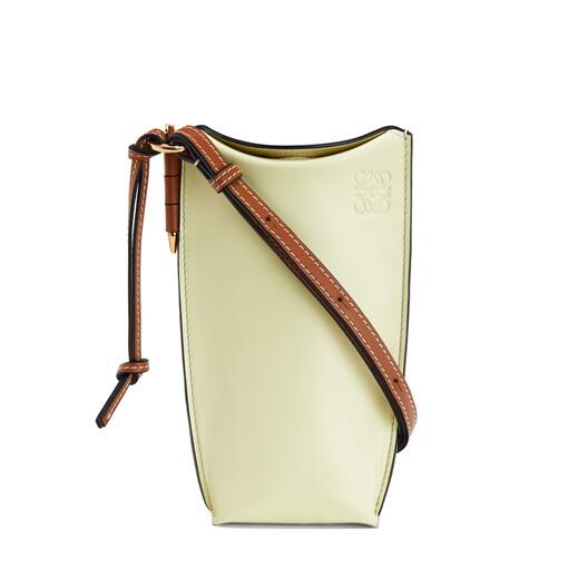 LOEWE Gate Pocket Pale Lime front