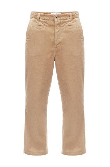 Corduroy Fisherman Trousers