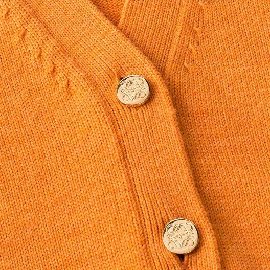 LOEWE Cardigan Naranja all