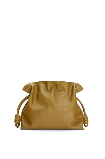 LOEWE Flamenco clutch in nappa calfskin Leaf pdp_rd