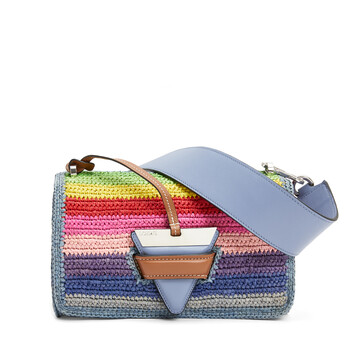 LOEWE Paula's Barcelona Rainbow Bag Multicolor front