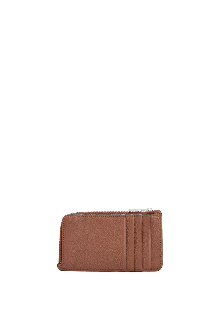 LOEWE Coin cardholder in soft grained calfskin Cognac pdp_rd