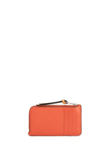 LOEWE 软粒面小牛皮硬币卡包 Coral/Soft Apricot pdp_rd