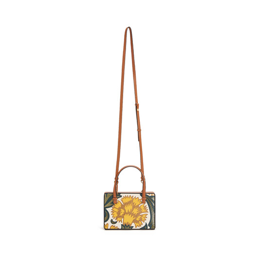 LOEWE Postal Floral Small Bag Yellow front