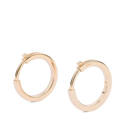 LOEWE Metallic Rings For Strap 金色 front