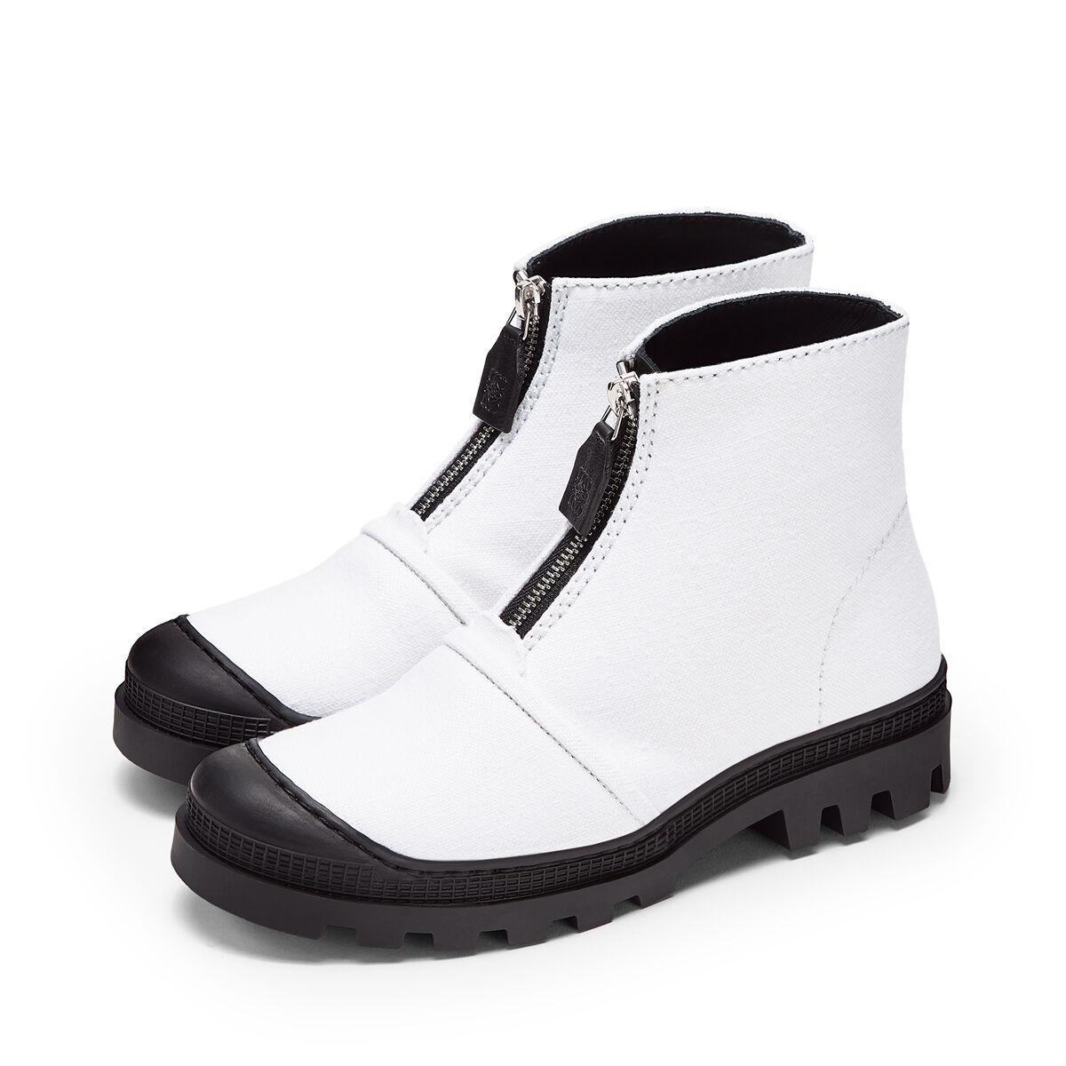 LOEWE Zip Boot White all