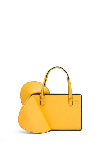 LOEWE Small Postal Wings bag in classic calfskin Yellow Mango pdp_rd
