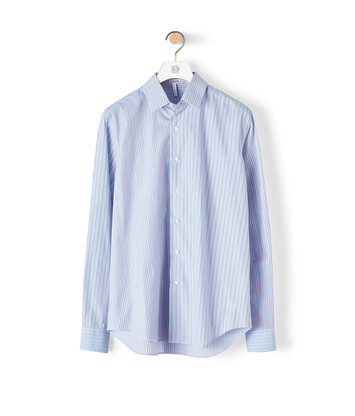 LOEWE Stripe Shirt Blue/Red/White front