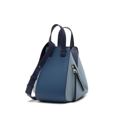 LOEWE Hammock Small Bag Varsity Blue Multitone front