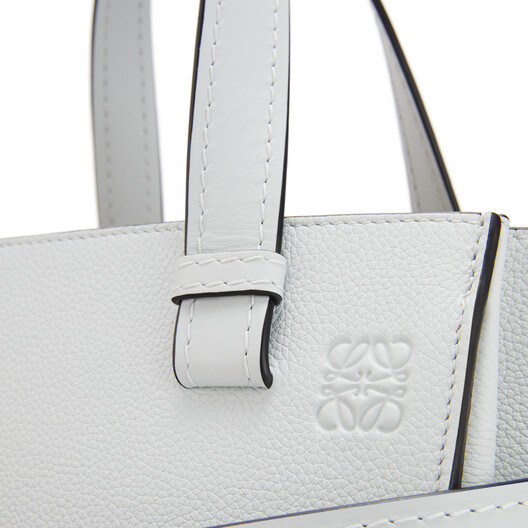 LOEWE Gate Top Handle Small Kaolin front