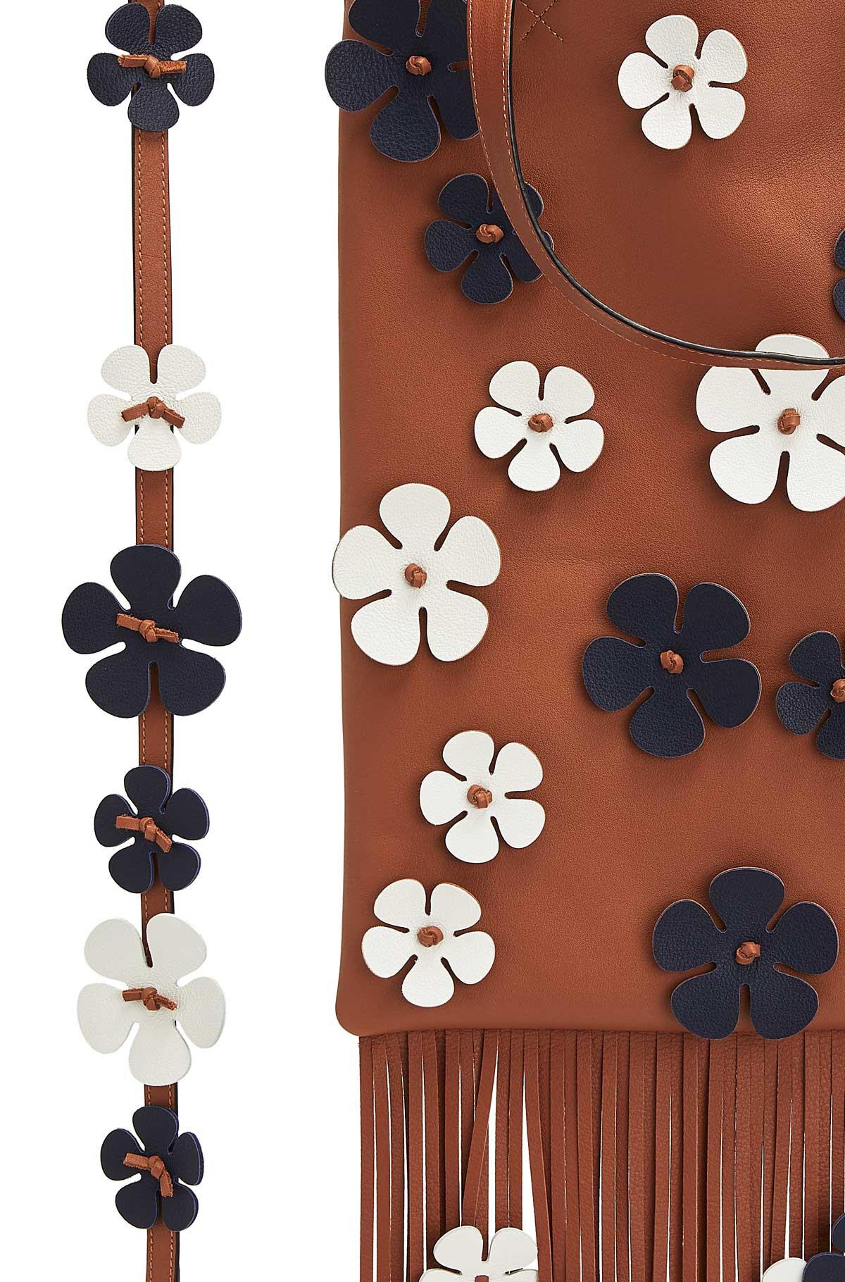 Vertical Tote Flowers