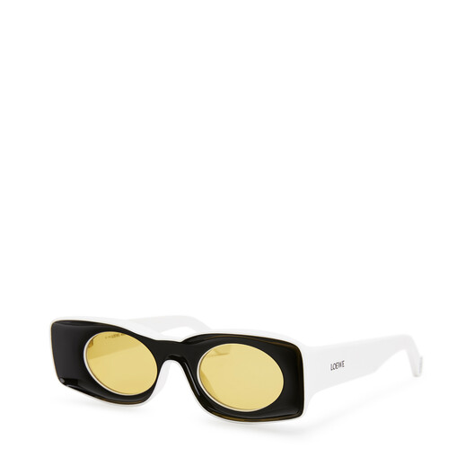 LOEWE Paula´S Original Sunglasses Black/White front