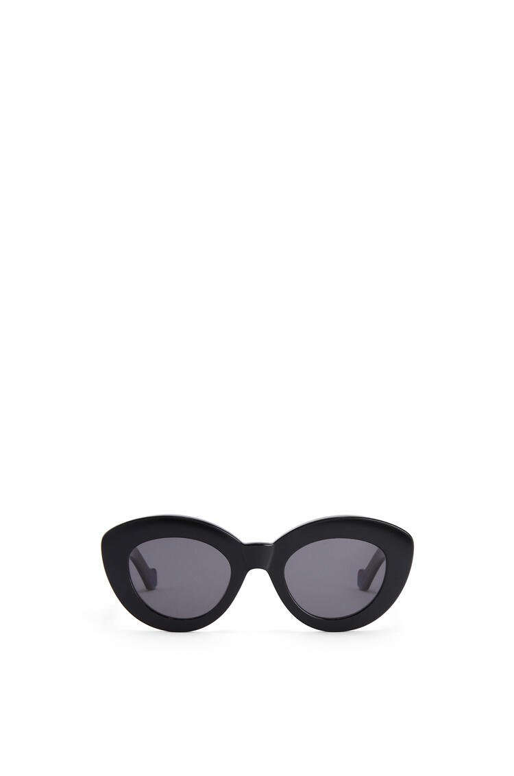 LOEWE Butterfly Anagram sunglasses in acetate Shiny Black pdp_rd