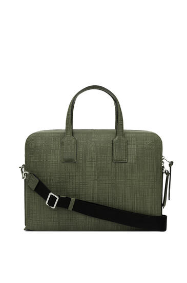 LOEWE Goya Thin Briefcase Khaki Green pdp_rd
