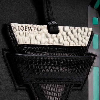 LOEWE バルセロナチューリップバッグ ブラック front