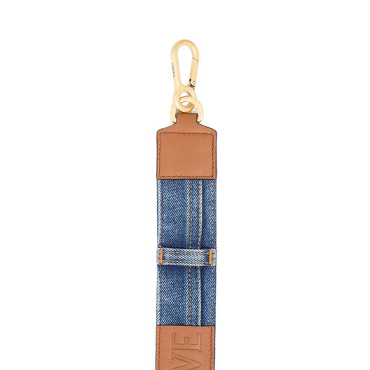 LOEWE Denim Strap Multitone Denim/Tan all