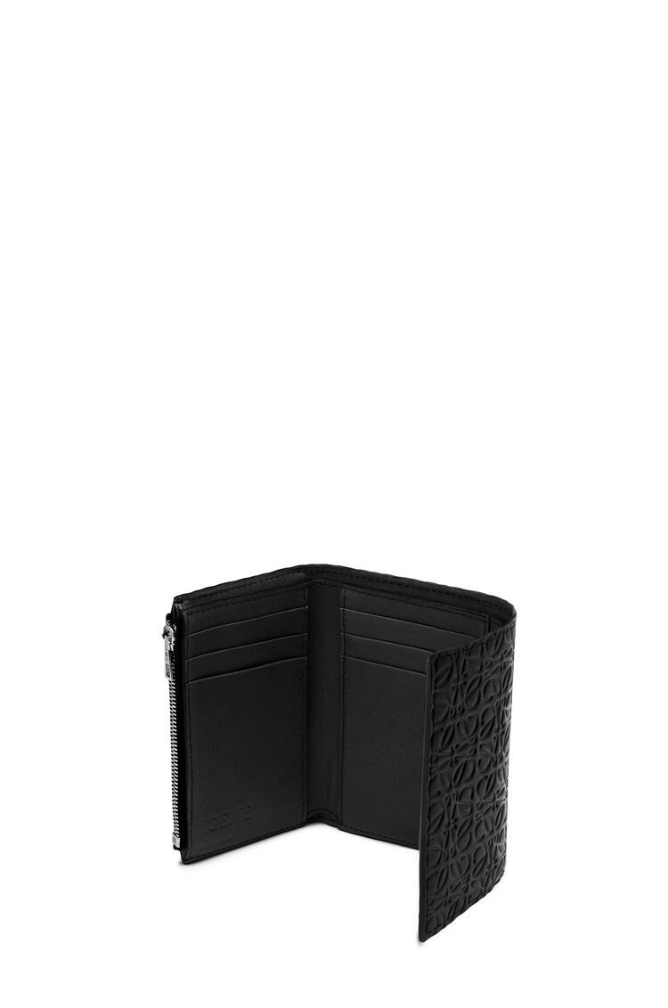 LOEWE Repeat small vertical wallet in calfskin Black pdp_rd