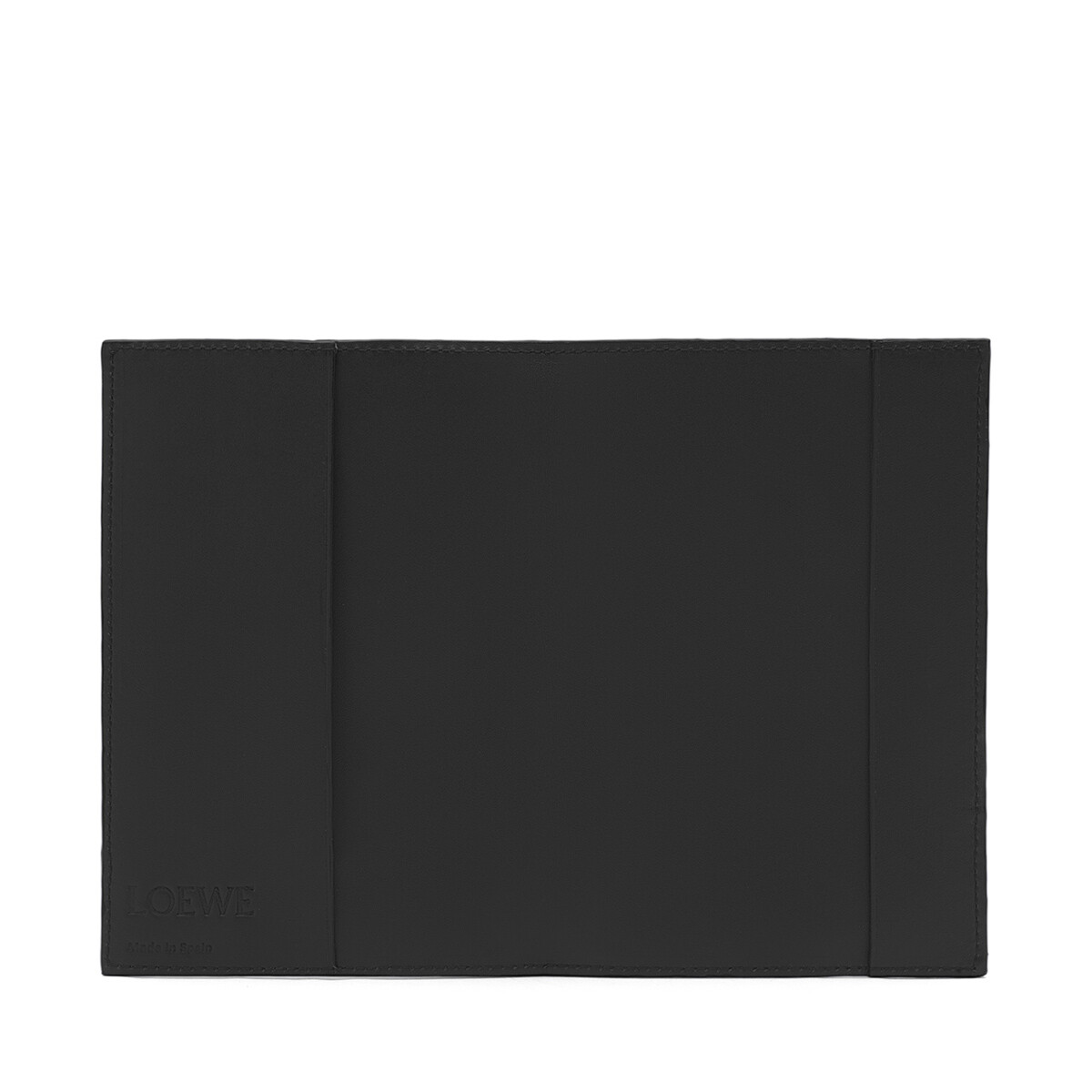 LOEWE パズル パスポート カバー ブラック front