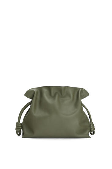 LOEWE Flamenco clutch in nappa calfskin Avocado Green pdp_rd