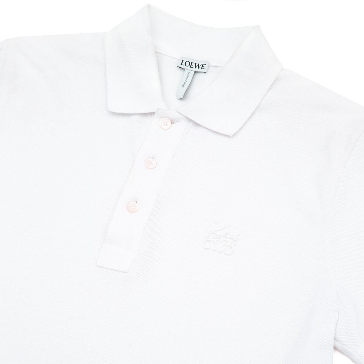 LOEWE Anagram Polo White Ash all
