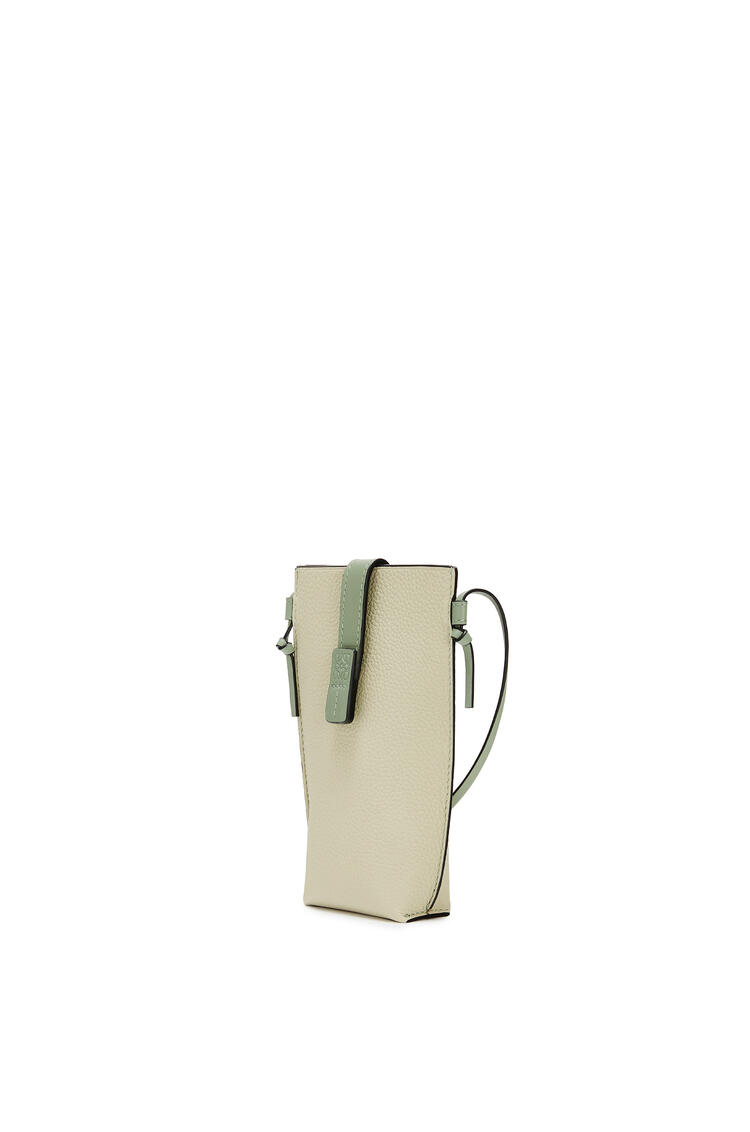 LOEWE Pocket In Soft Grained Calfskin Sage/Pale Green pdp_rd