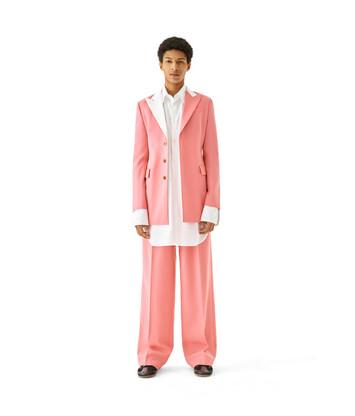 LOEWE 2Bt Tuxedo Jacket Old Pink front