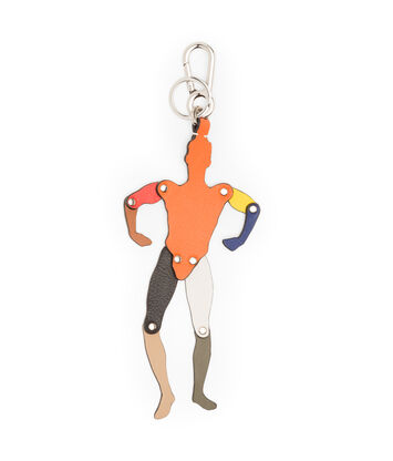 LOEWE Doll Charm Multicolor front