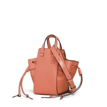 LOEWE Hammock Dw Mini Bag Pink Tulip front