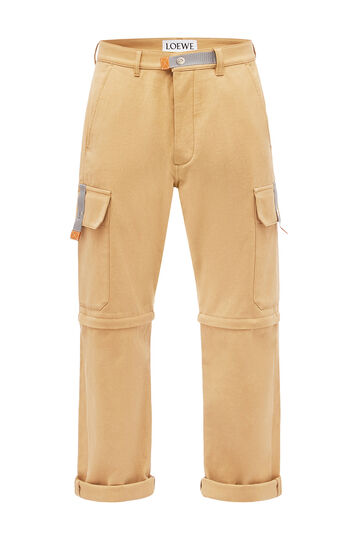 LOEWE Cargo Trousers Beige front