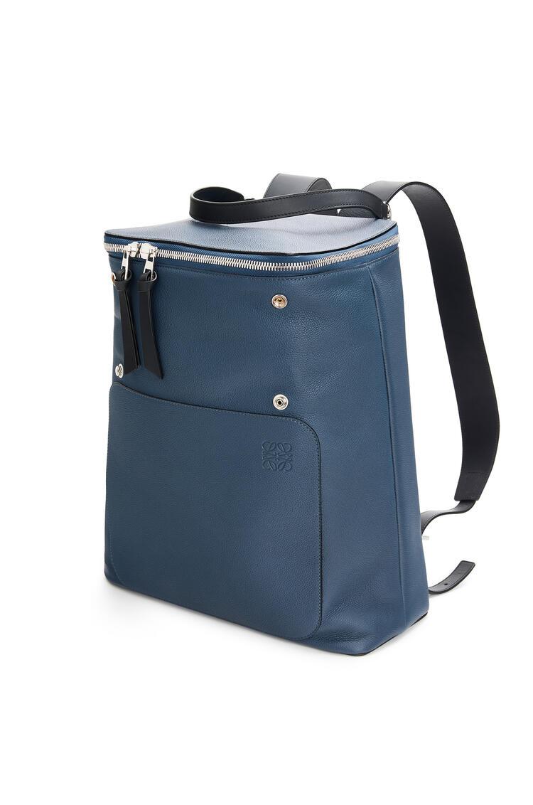 LOEWE Goya Backpack In Soft Grained Calfskin 靛藍 pdp_rd