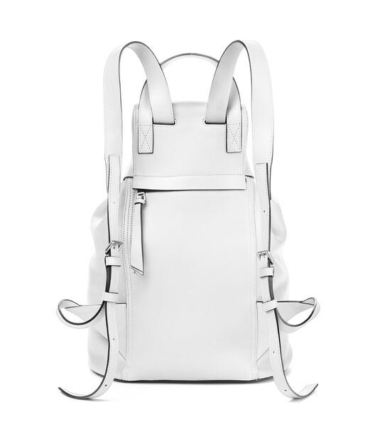LOEWE Rucksack Small Soft White front