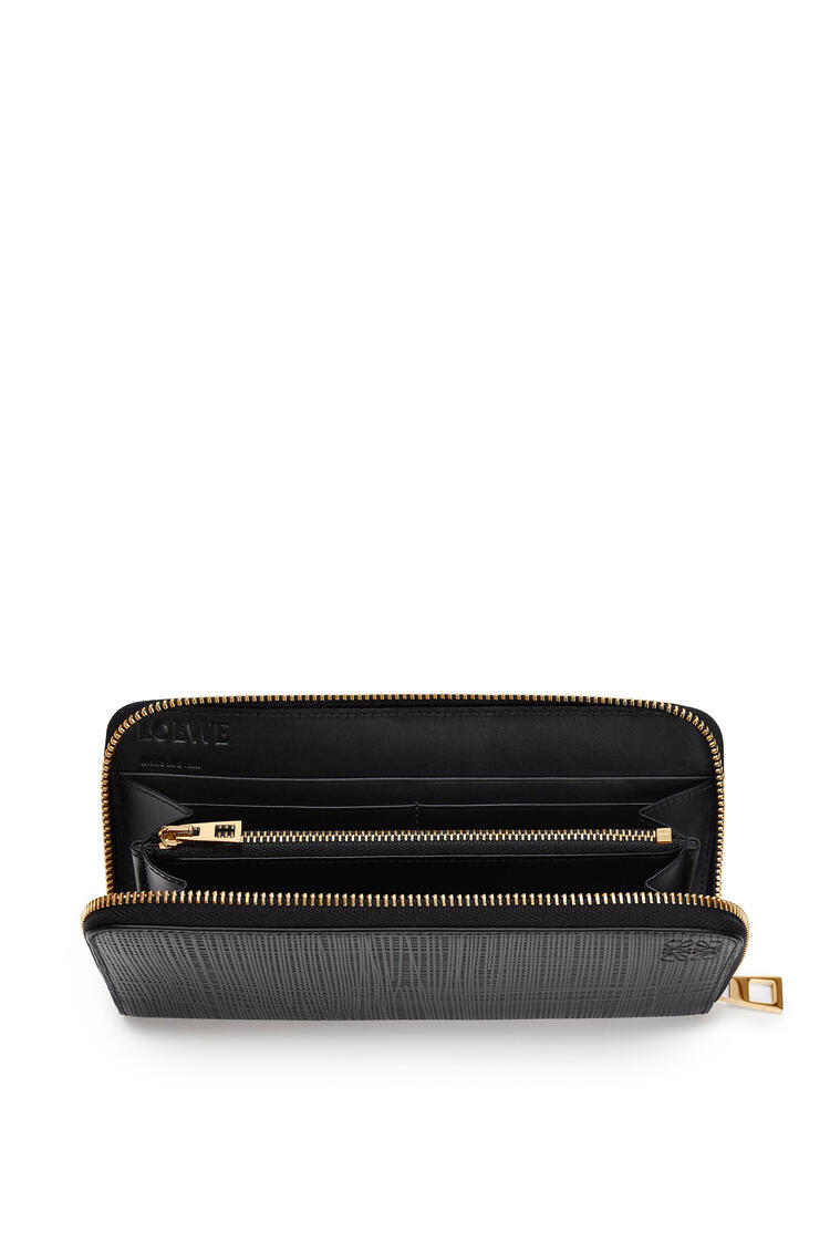 LOEWE Zip around wallet in calfskin Black pdp_rd
