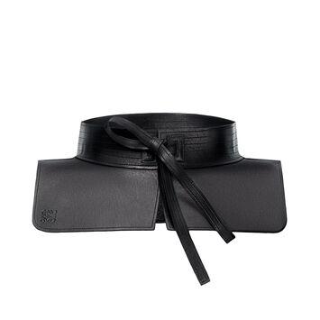 LOEWE Obi Belt Black front
