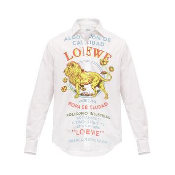 LOEWE Shirt El Leon Multicolor front