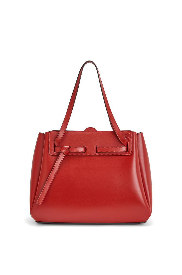 LOEWE Lazo Shopper Bag In Box Calfskin Rouge pdp_rd